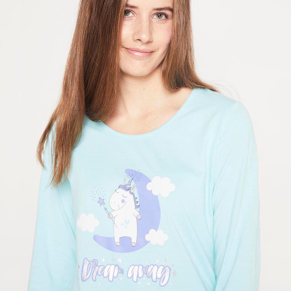 Pijama Algodón  Mujer Freedom image number 3.0