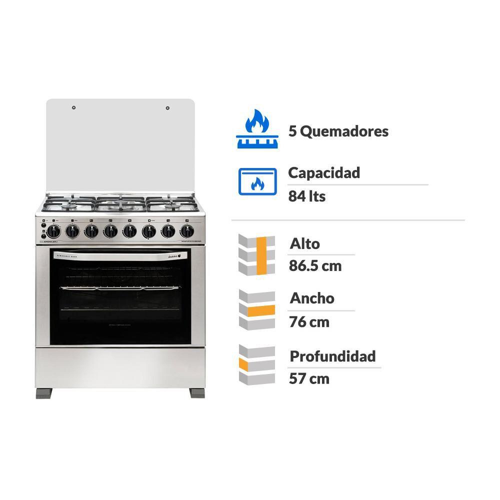 Cocina Sindelen Ch-8900in 5p / 5 Quemadores image number 1.0