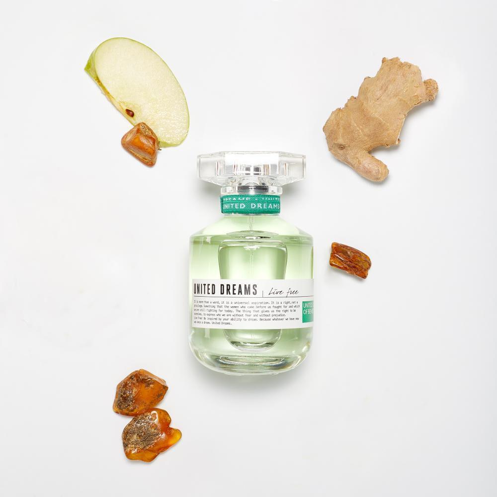 Perfume Live Free + Desodorante Benetton / 50 Ml / 150ml / Eau De Toillete image number 3.0