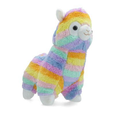 Peluche Hitoys Llama Rainbow