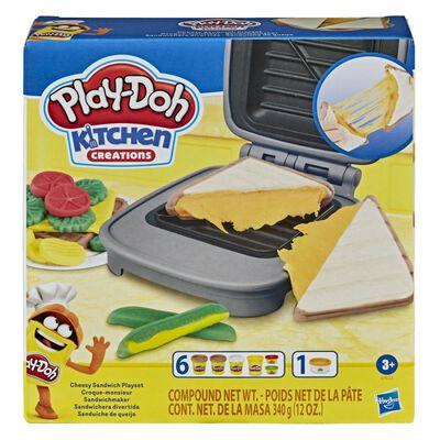 Masas Educativas Play Doh Kitchen Creations Sandwichera Divertida