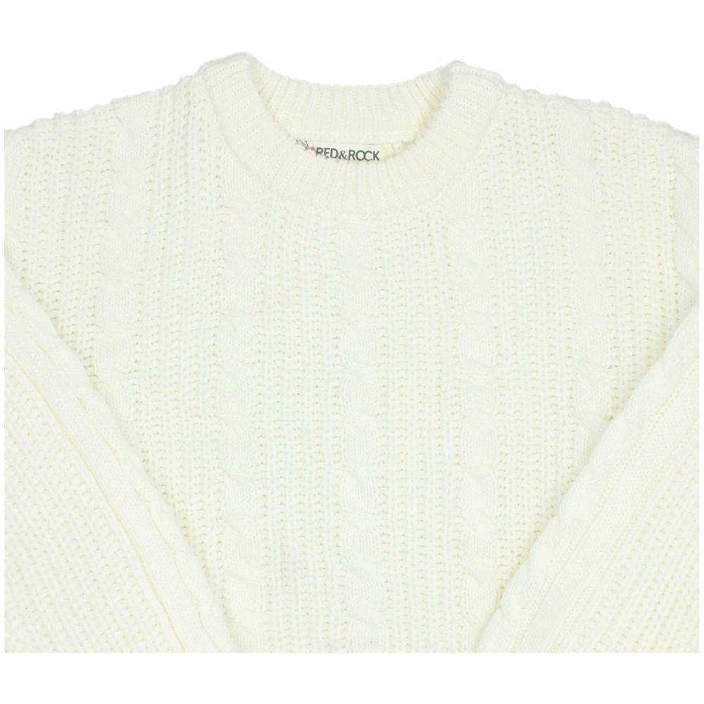 Sweater Niña Teen Red Rock image number 2.0