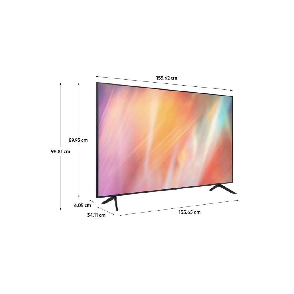 """Led Samsung AU7000 / 70"""" / Ultra Hd / 4k / Smart Tv 2021 image number 6.0"""
