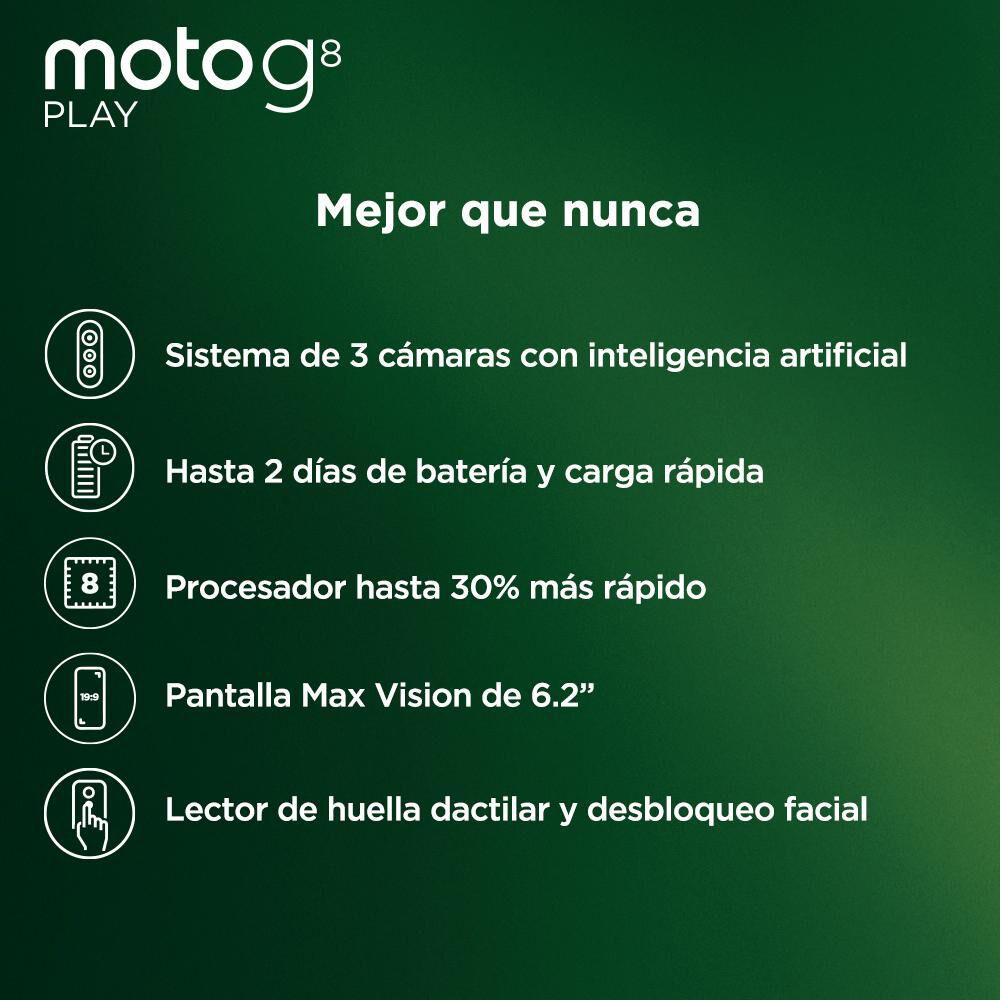 Smartphone Motorola G8 Play 32 Gb / Claro image number 2.0