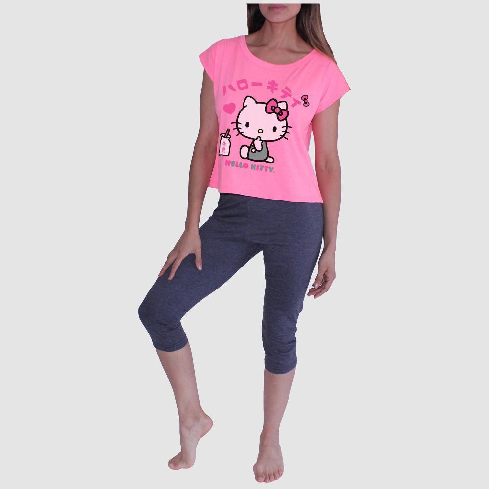 Pijama Mujer H.kitty / 2 Piezas image number 0.0