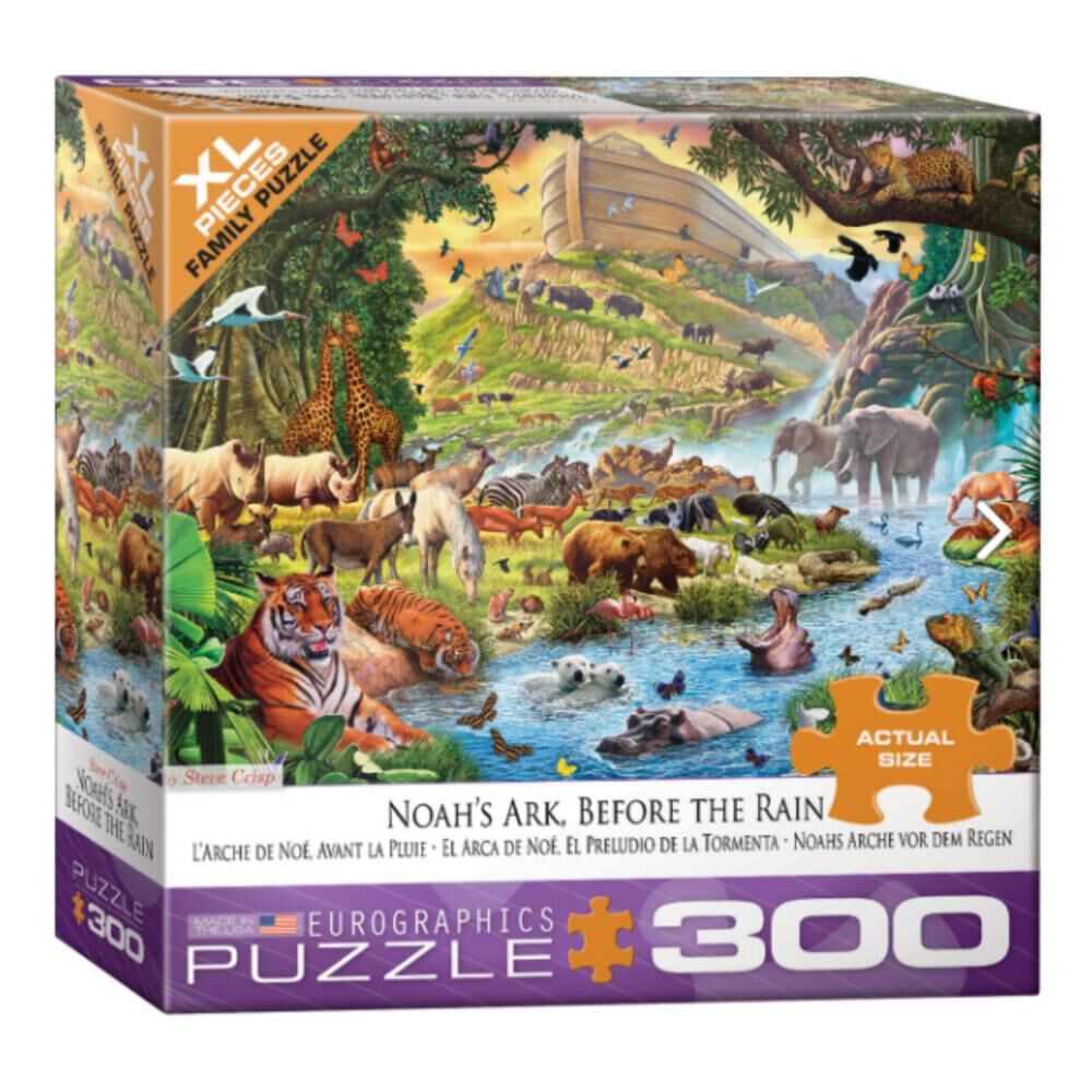 Puzzle Eurographics 8300-0980 Noah's Ark image number 1.0