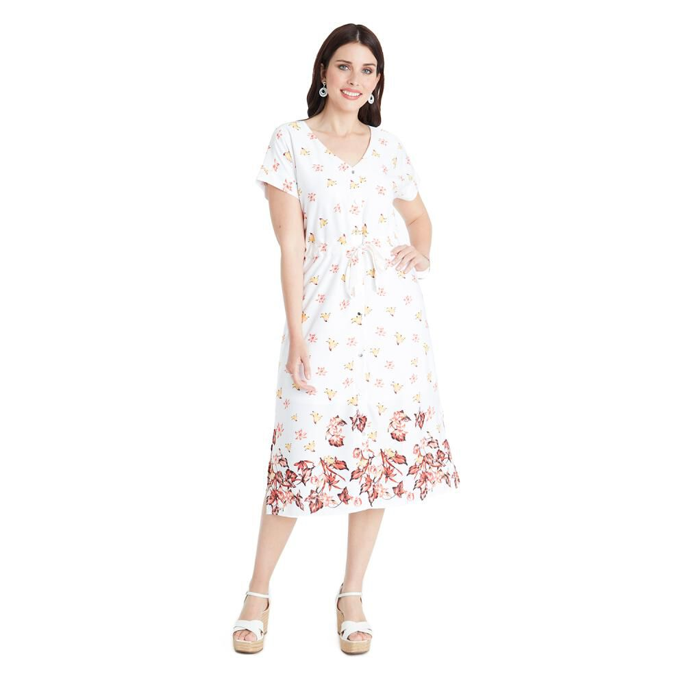 Vestido Mujer Lorenzo Di Pontti image number 3.0