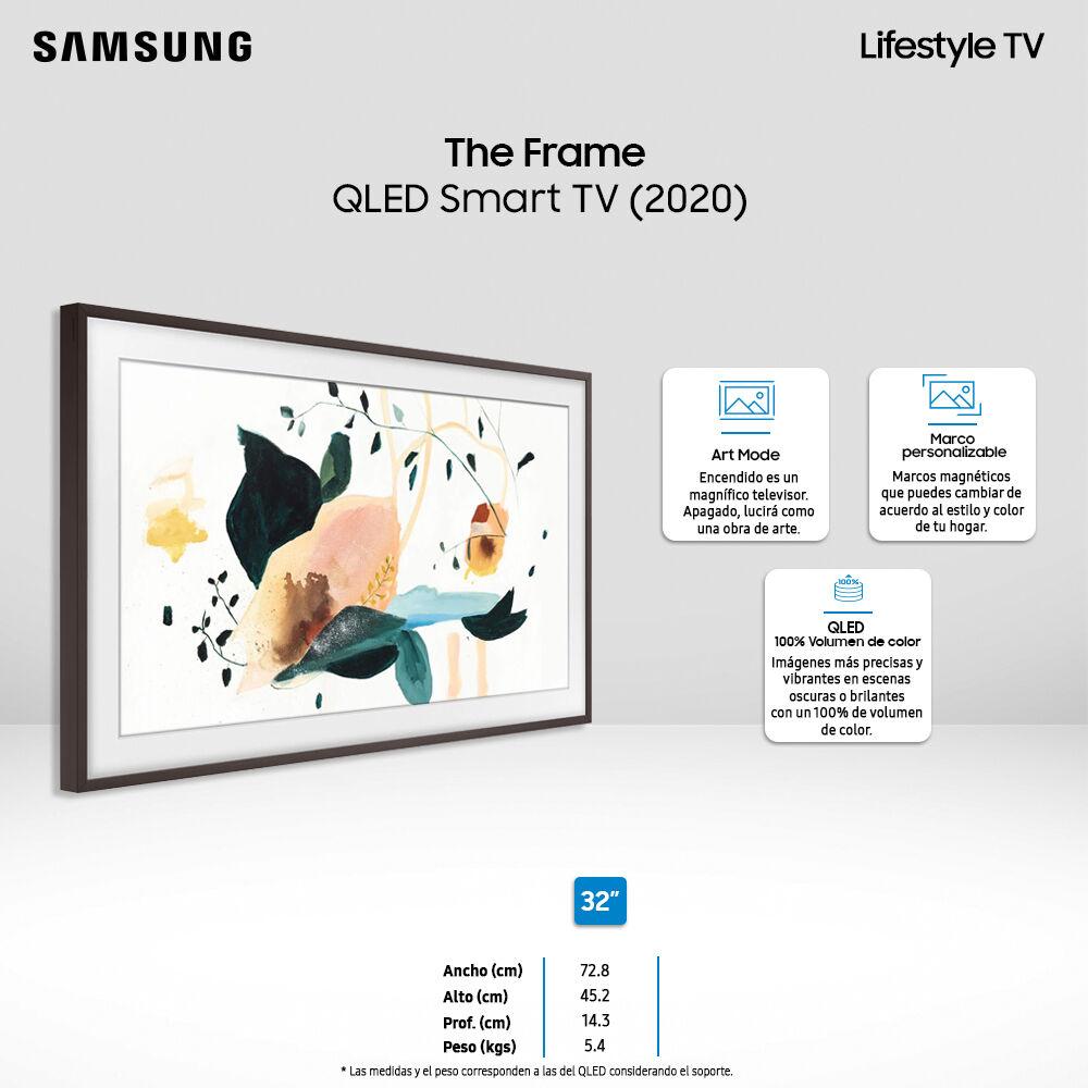 Qled Samsung The Frame / 32'' / Full HD / Smart Tv 2020 + Marco image number 3.0