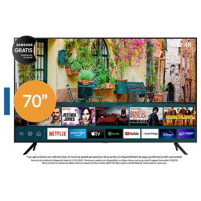 "Led Samsung Un70au7000 / 70"" / Ultra Hd / 4k / Smart Tv"