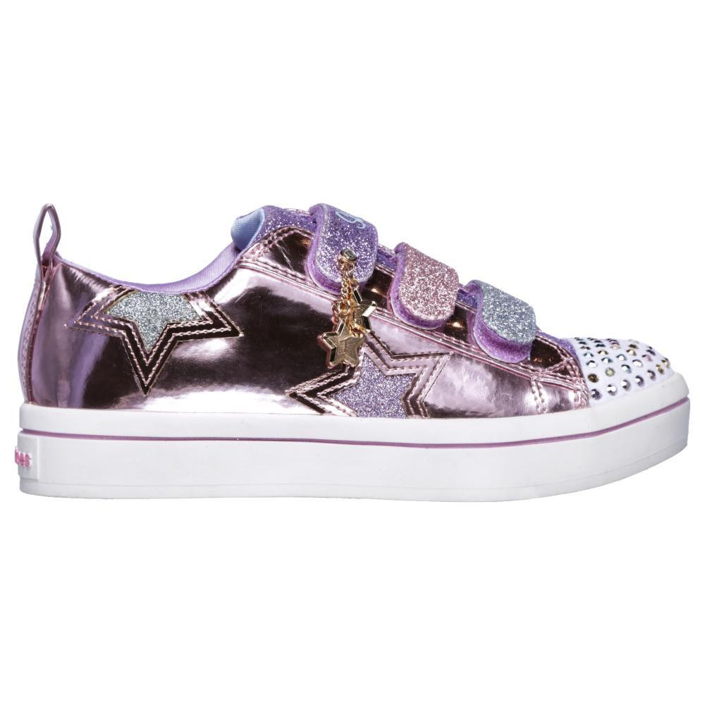 Zapatilla Niña Skechers Twi-lites-twinkle Starz image number 3.0
