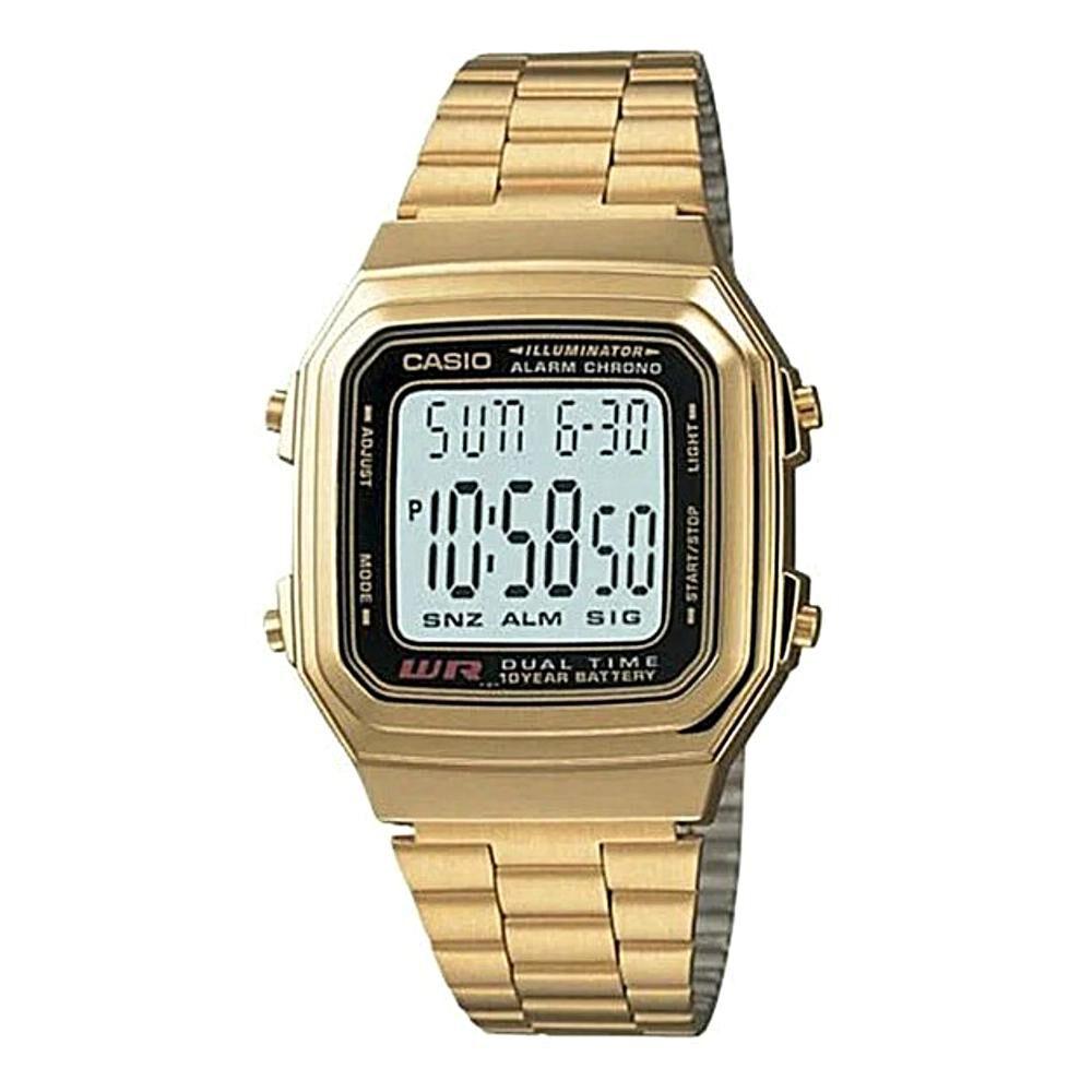Reloj Casual Hombre Casio A178wga-1adf image number 0.0