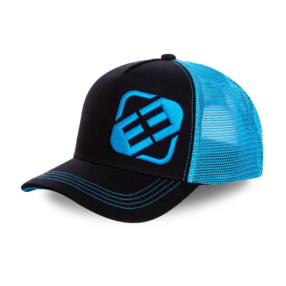 Jockey Trucker Freegun Logo Negro/azul image number 0.0