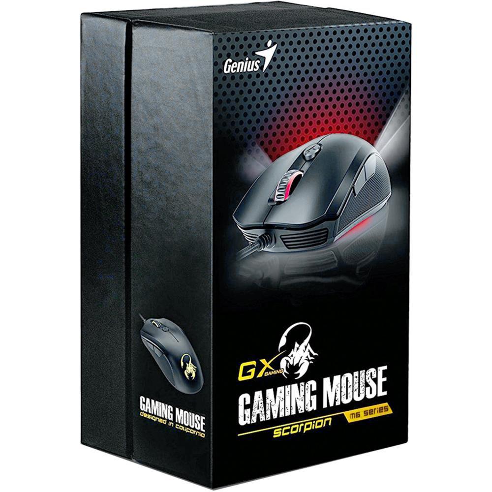 Mouse Gamer Genius Scorpion M6-400 image number 2.0