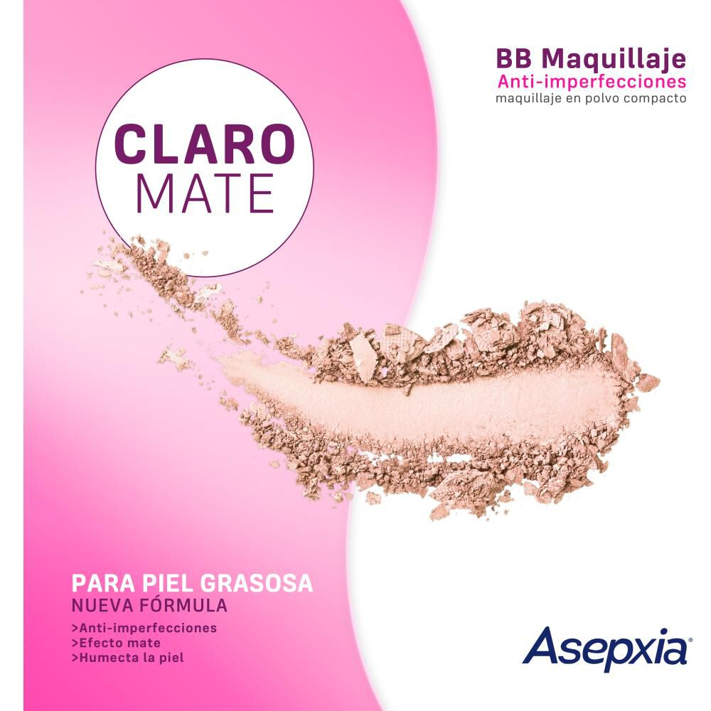 Maquillaje Polvo Asepxia Marfil Nf image number 1.0