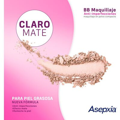 Maquillaje Polvo Asepxia Marfil Nf