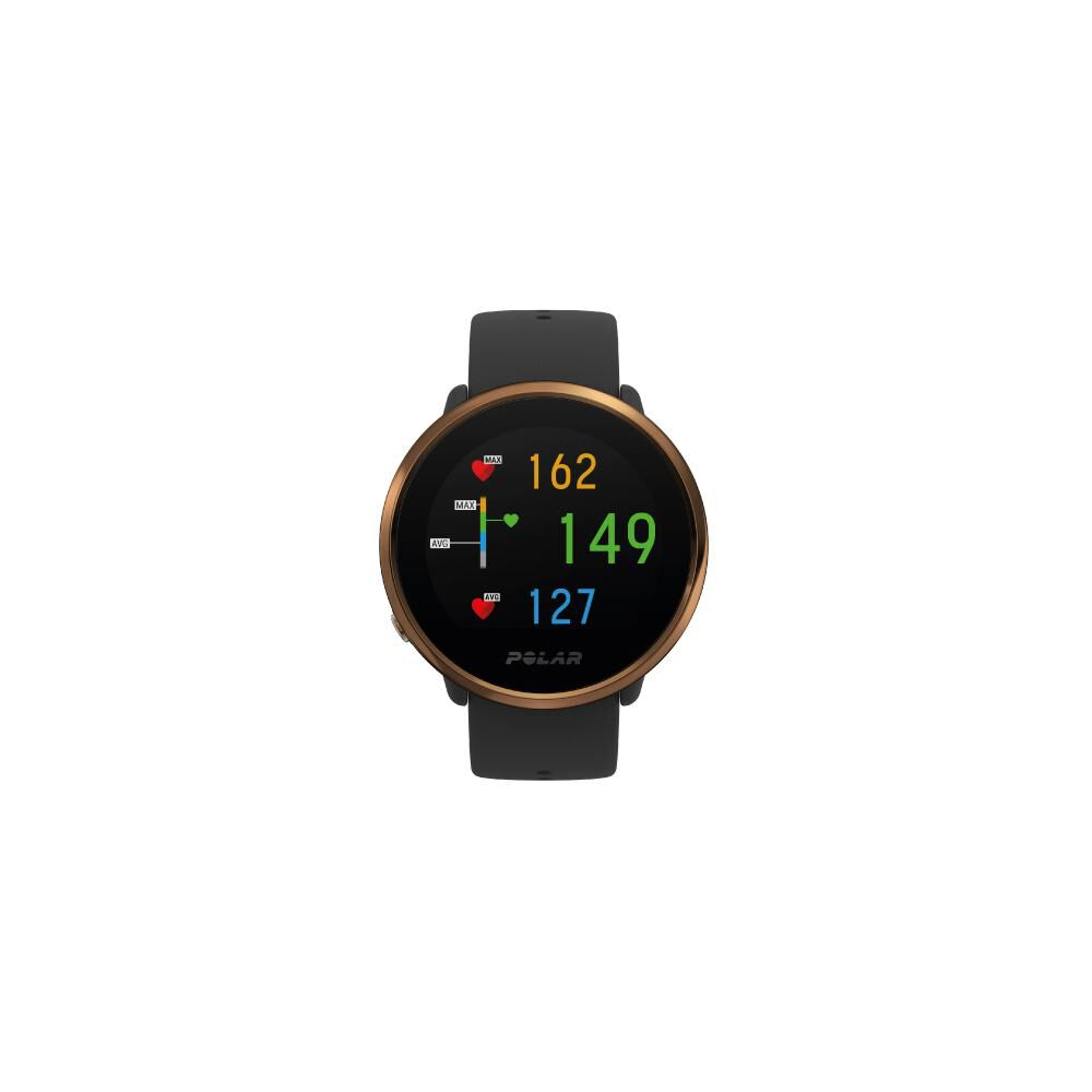 Smartwatch Polar Ignite   Negro / Cobre image number 1.0