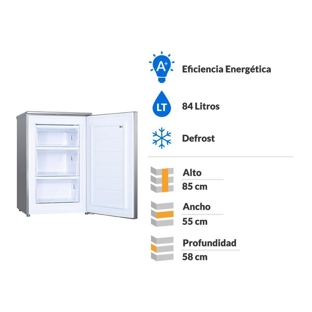 Freezer Horizontal Defrost Convencional Fdv Elegance / 84 Litros / A+ image number 1.0