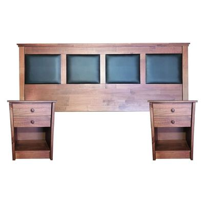 Set De Madera Casaideal New Corinto   / King