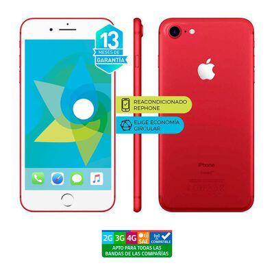 Smartphone Apple Iphone 7 Rojo Reacondicionado / 128 Gb / Liberado