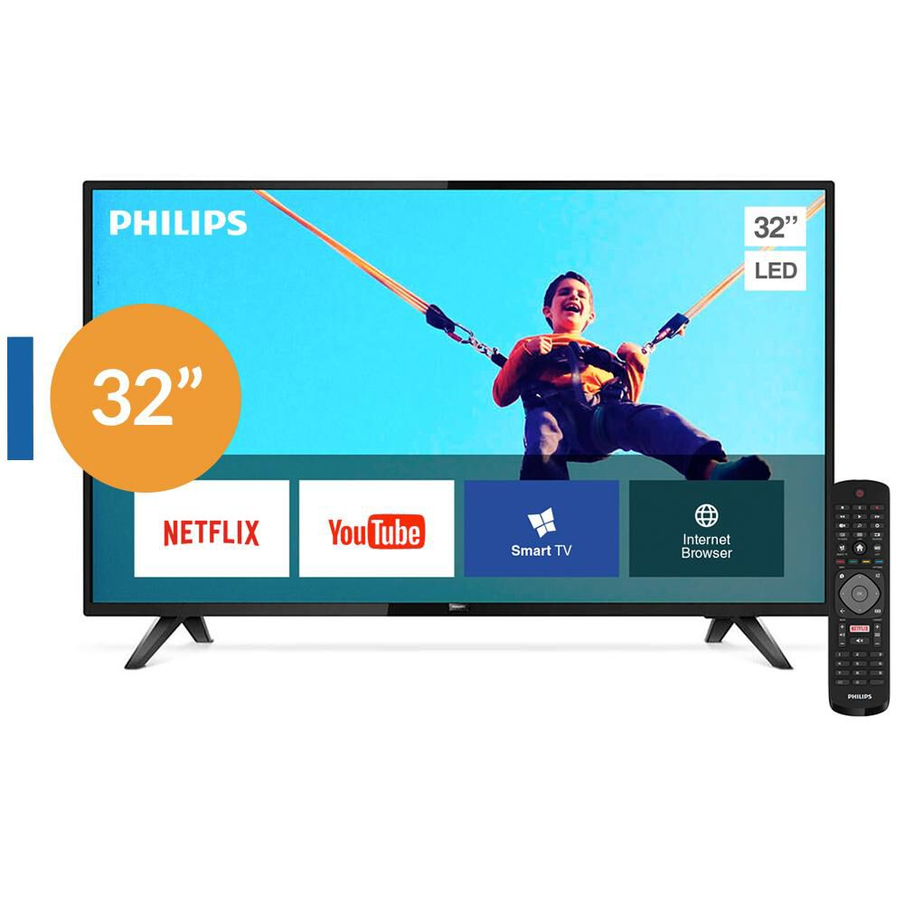"""Led Philips PHD5813 / 32 """" / Hd / Smart Tv image number 0.0"""