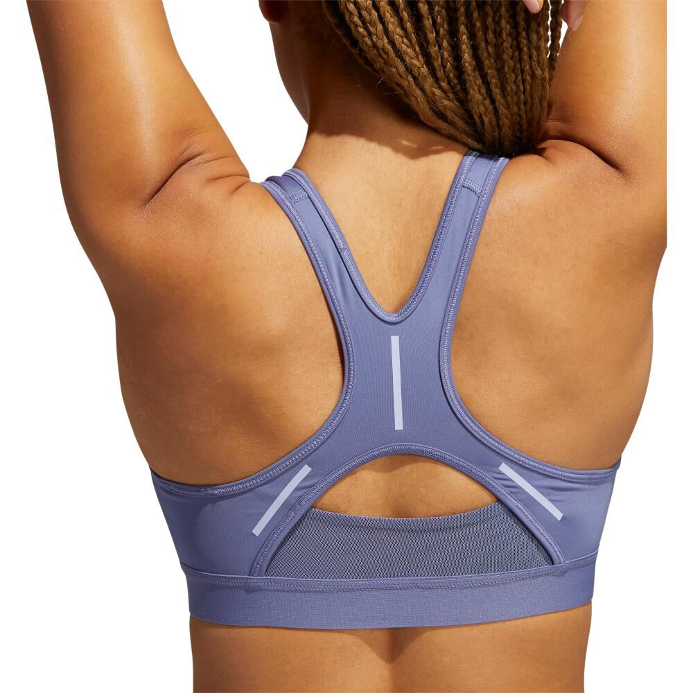 Peto Deportivo Mujer Adidas Believe This Reflective Bra image number 4.0