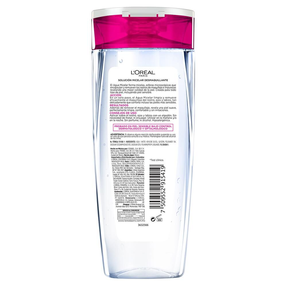 Agua Micelar Dermo Expertise / 400 Ml image number 2.0