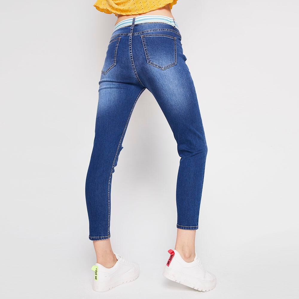 Jeans Super Skinny Mujer Freedom image number 2.0