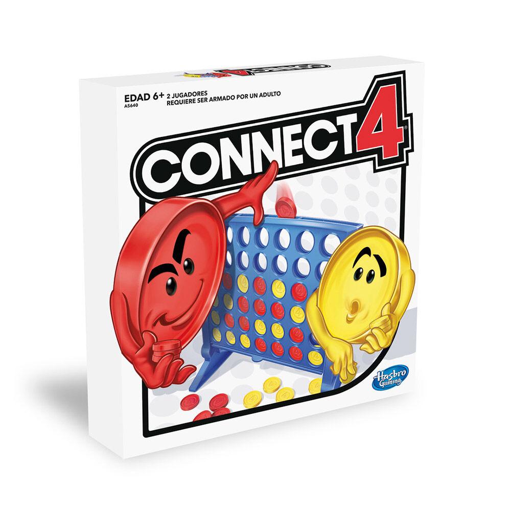 Juego Hasbro Gaming Conecta 4 image number 0.0