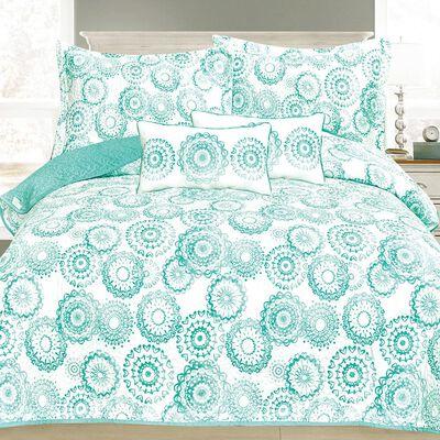 Set Quilt Belle Noite Siena + 2 Cojines / 2 Plazas