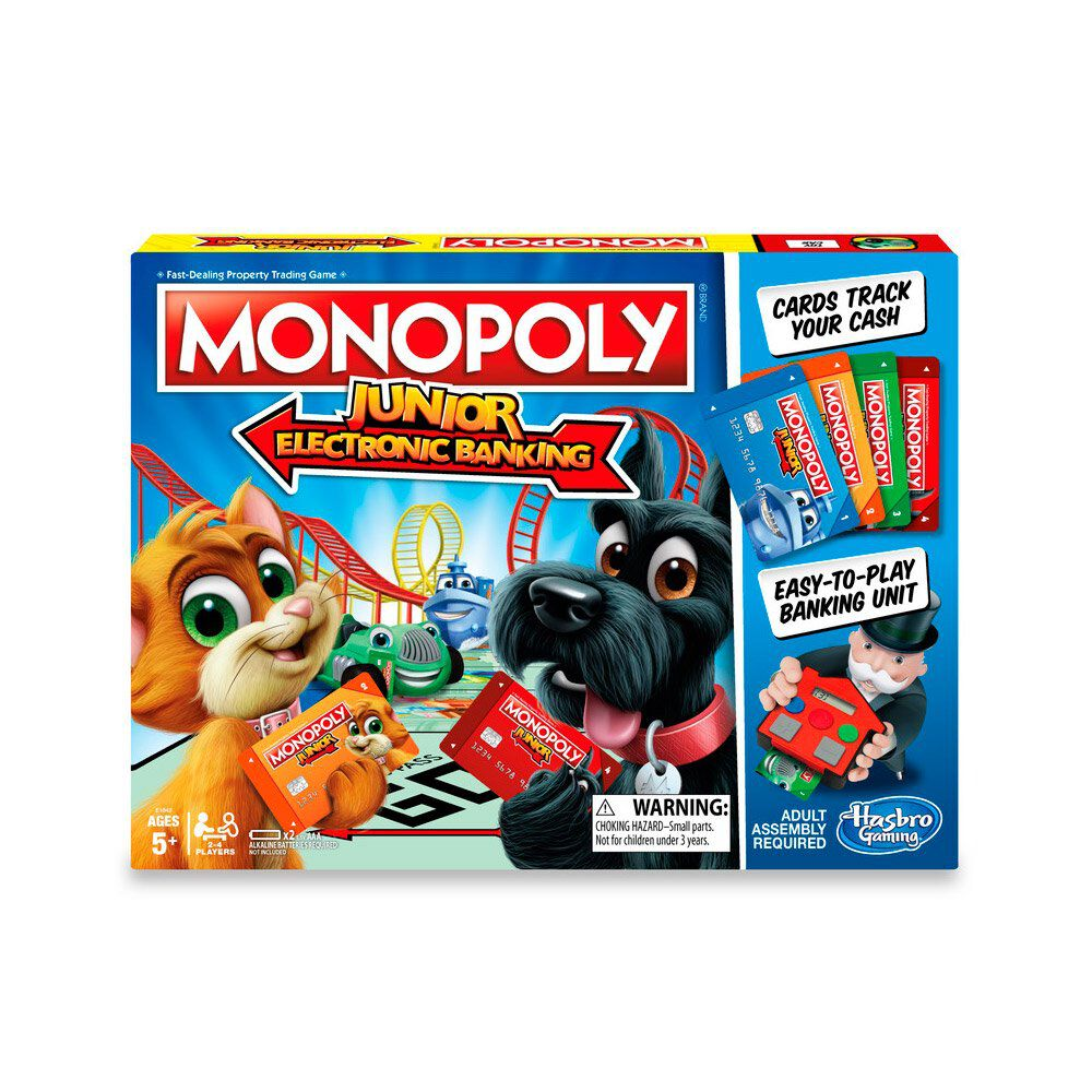 Juego De Mesa Monopoly Electronic Banking image number 0.0