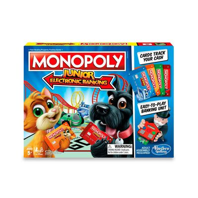Juego De Mesa Monopoly Electronic Banking