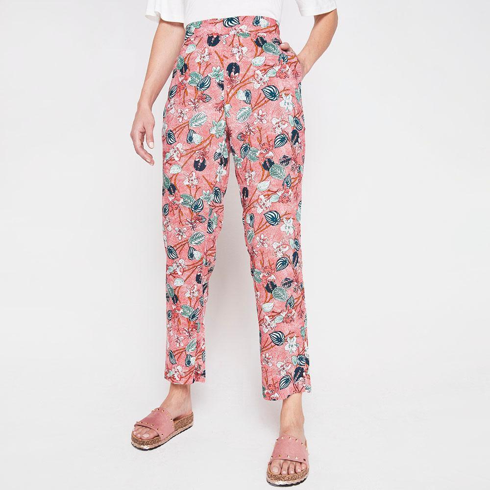 Pantalon Bombacho Viscosa Mujer Geeps image number 0.0