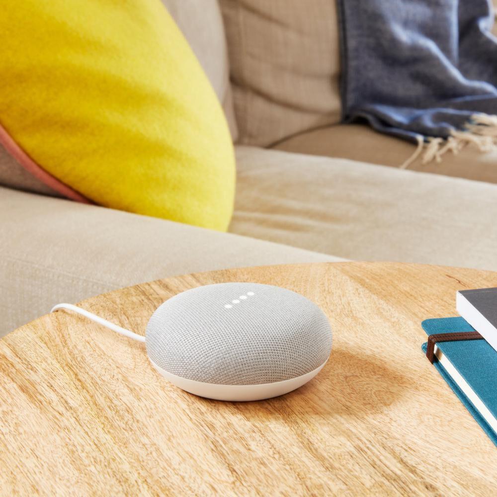 Parlante Bluetooth Google Mini Gris / Asistente de voz image number 4.0