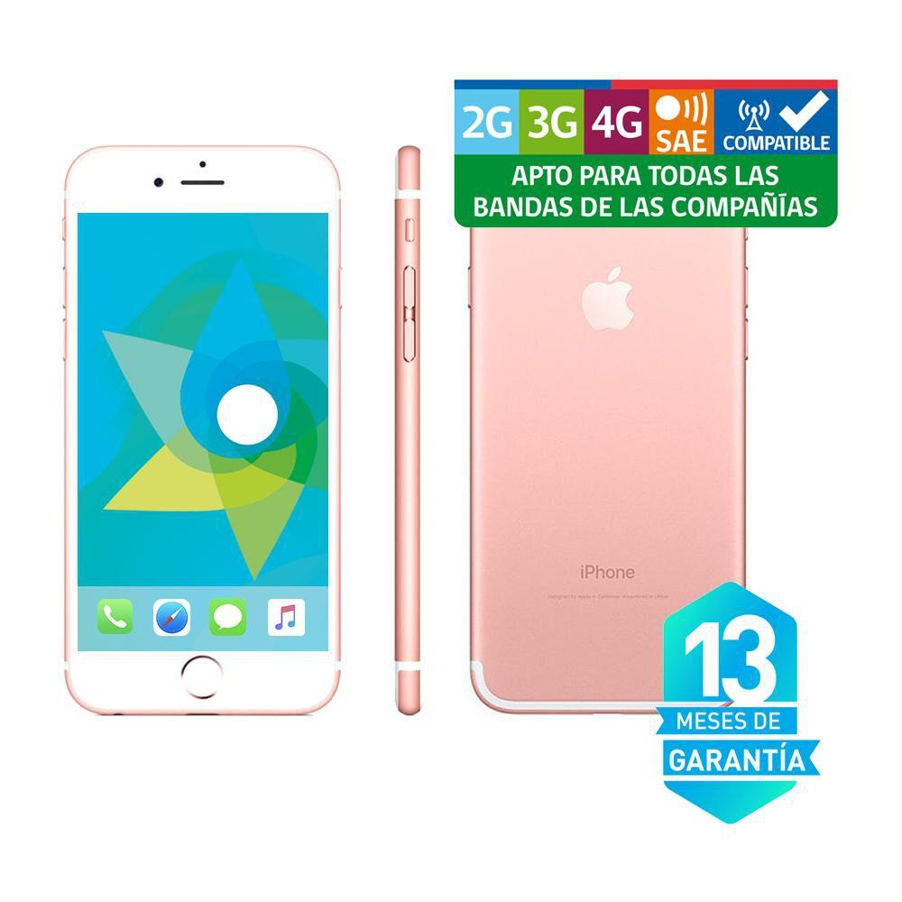 Smartphone Iphone 7 Reacondicionado  Rosado /  32 Gb / Liberado image number 3.0