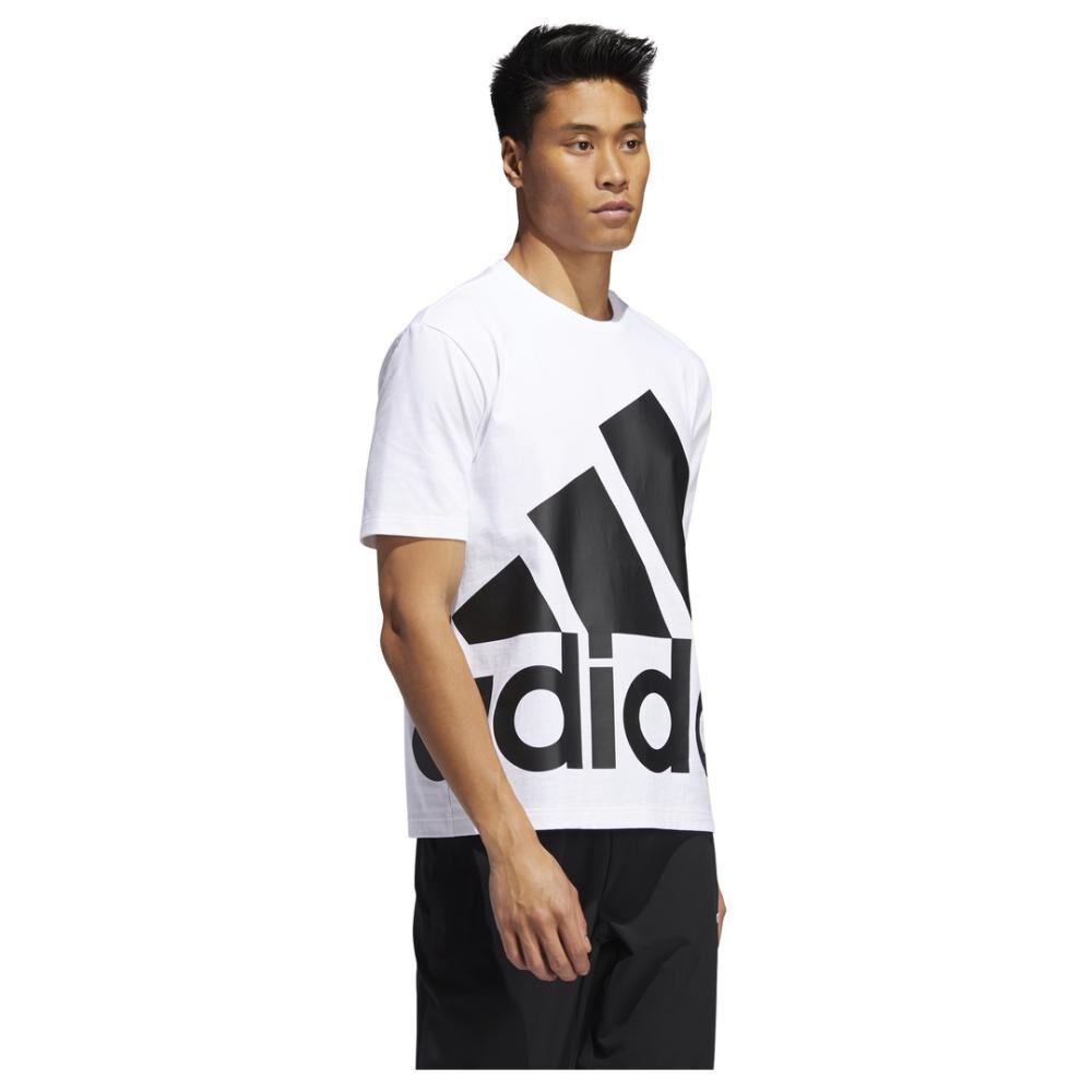 Polera Hombre Adidas Logo Grande image number 2.0