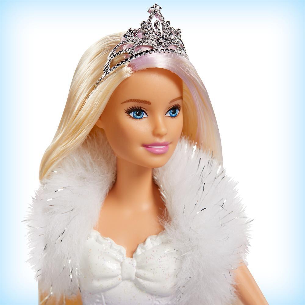 Muñeca Barbie Princesa Vestido Mágico image number 3.0