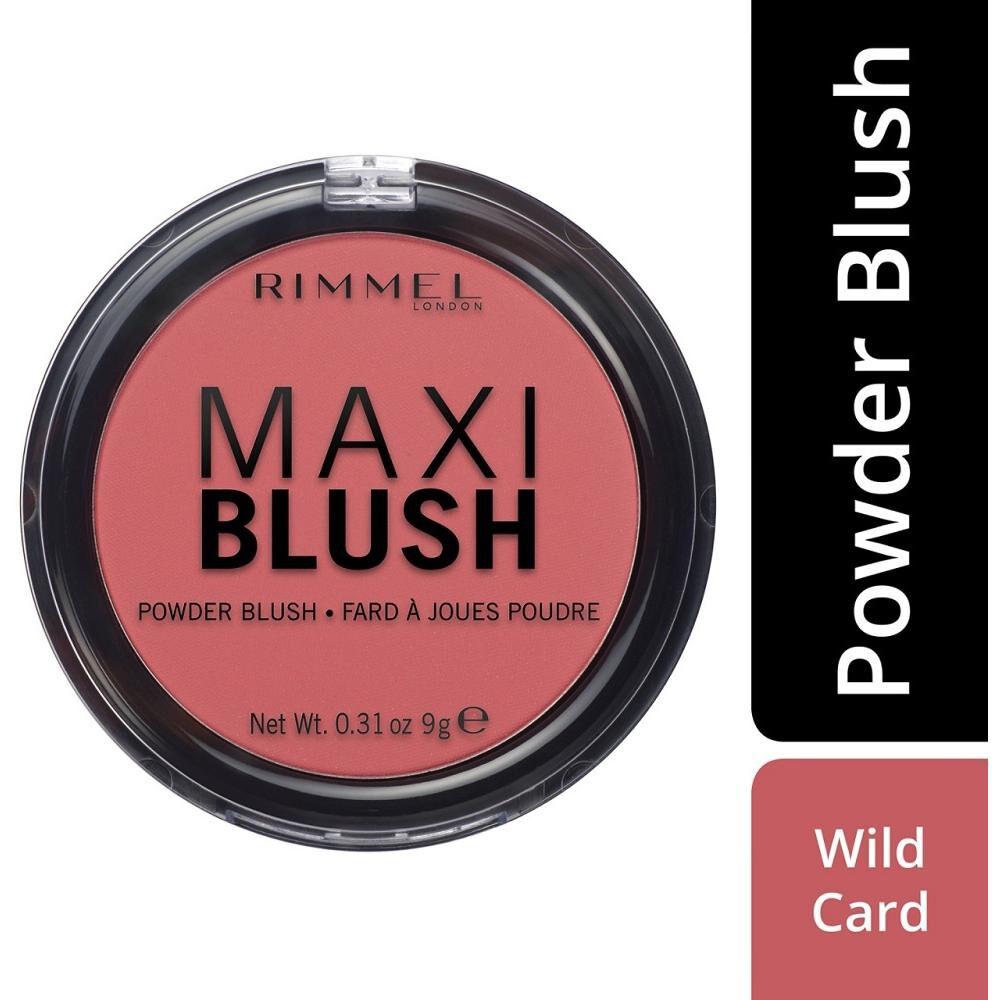 Rubor Rimmel Maxi Blush Wild Car image number 0.0