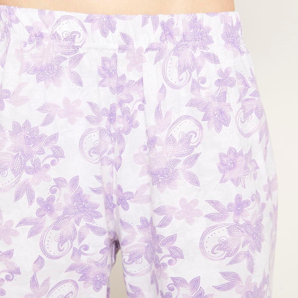 Pijama Capri Manga Corta Mujer Lesage image number 4.0
