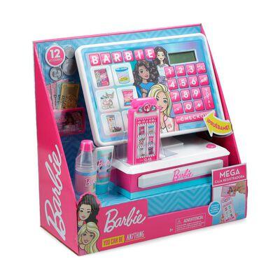 Muñeca Barbie Mega Caja Registradora