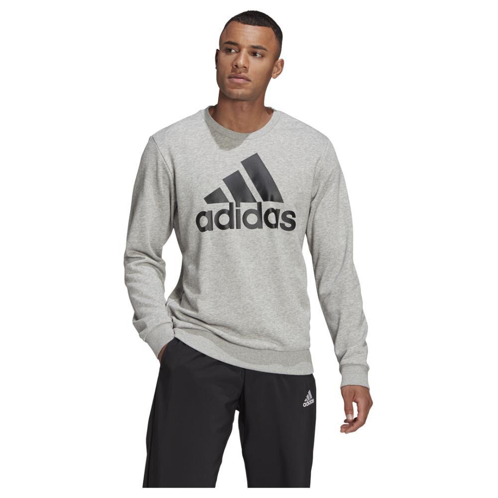 Polerón Deportivo Hombre Adidas Essentials Sweatshirt image number 0.0
