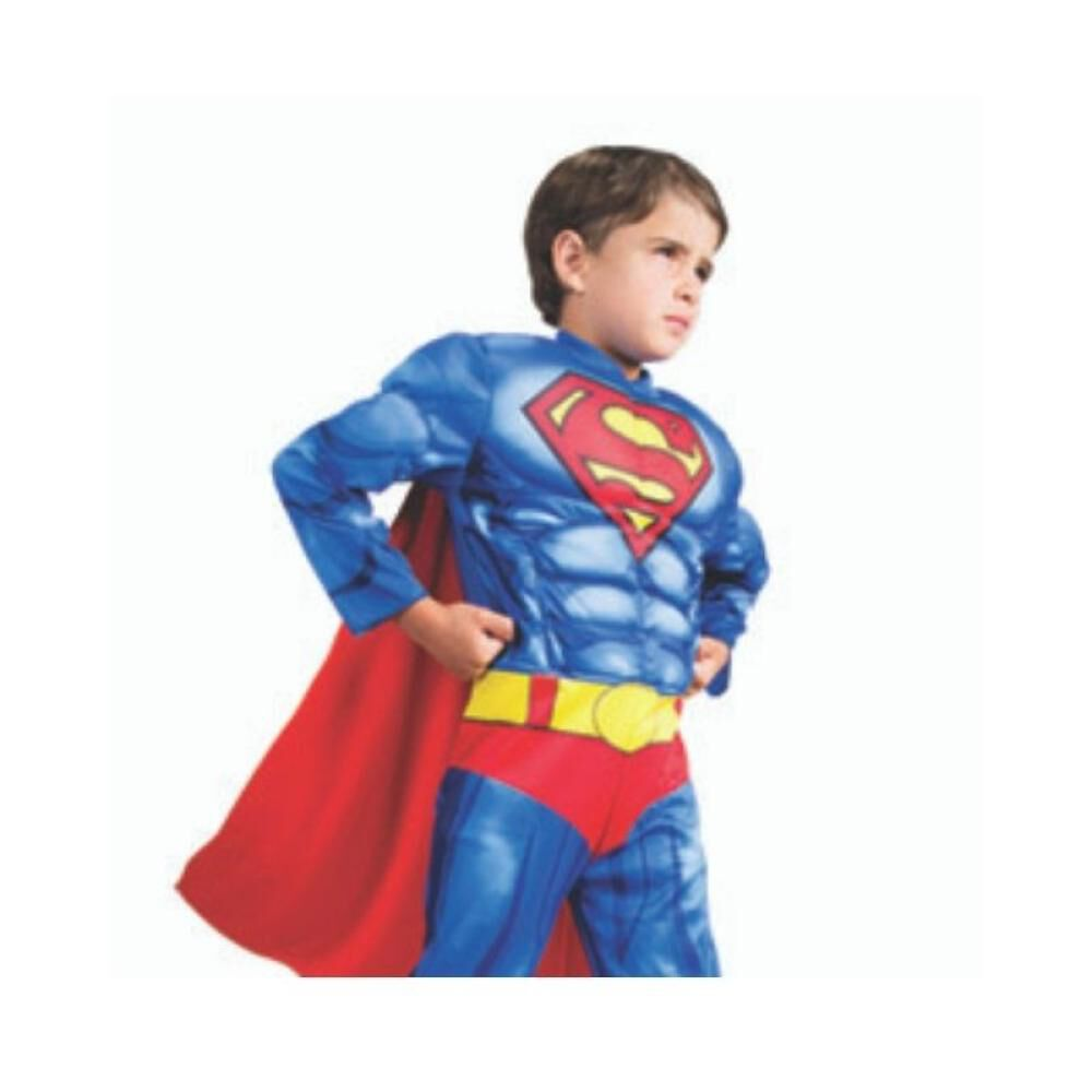 Disfraz Glam Superman Deluxe / Talla 4/6 image number 0.0