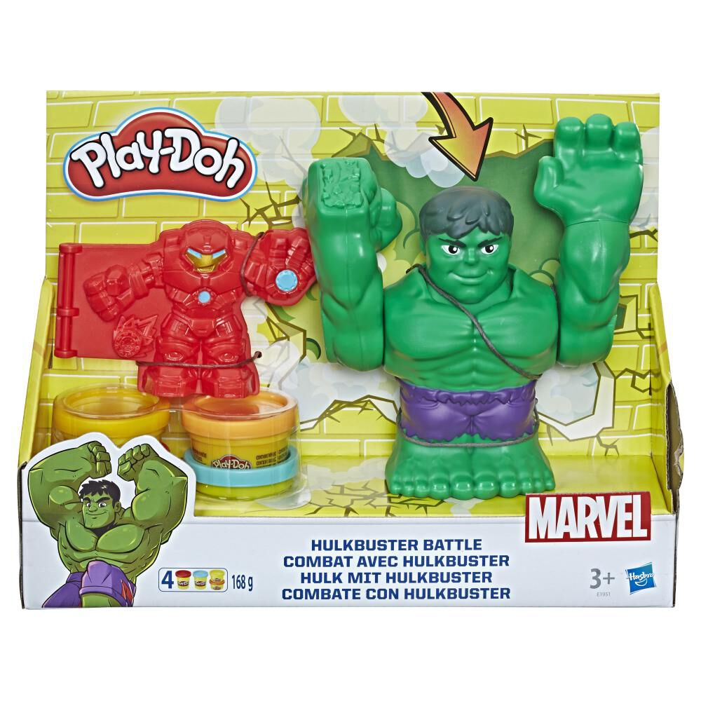 Masas Educativas Play Doh Mvl Hulkbuster Battle image number 0.0