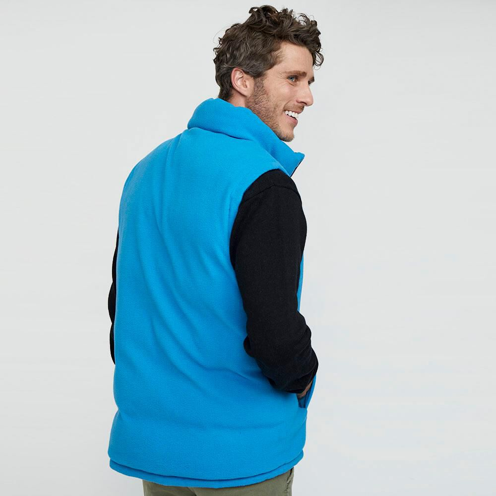Parka Sin Mangas Reversible Hombre Peroe image number 5.0