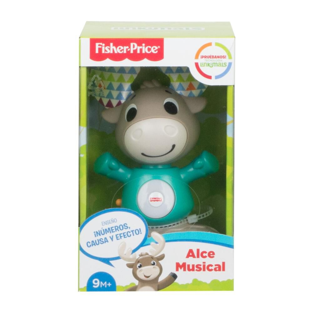 Peluche Didactico Fisher Price Linkimals Alce Musical image number 1.0