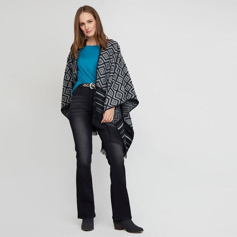 Jeans Mujer Tiro Alto Flare Geeps image number 1.0