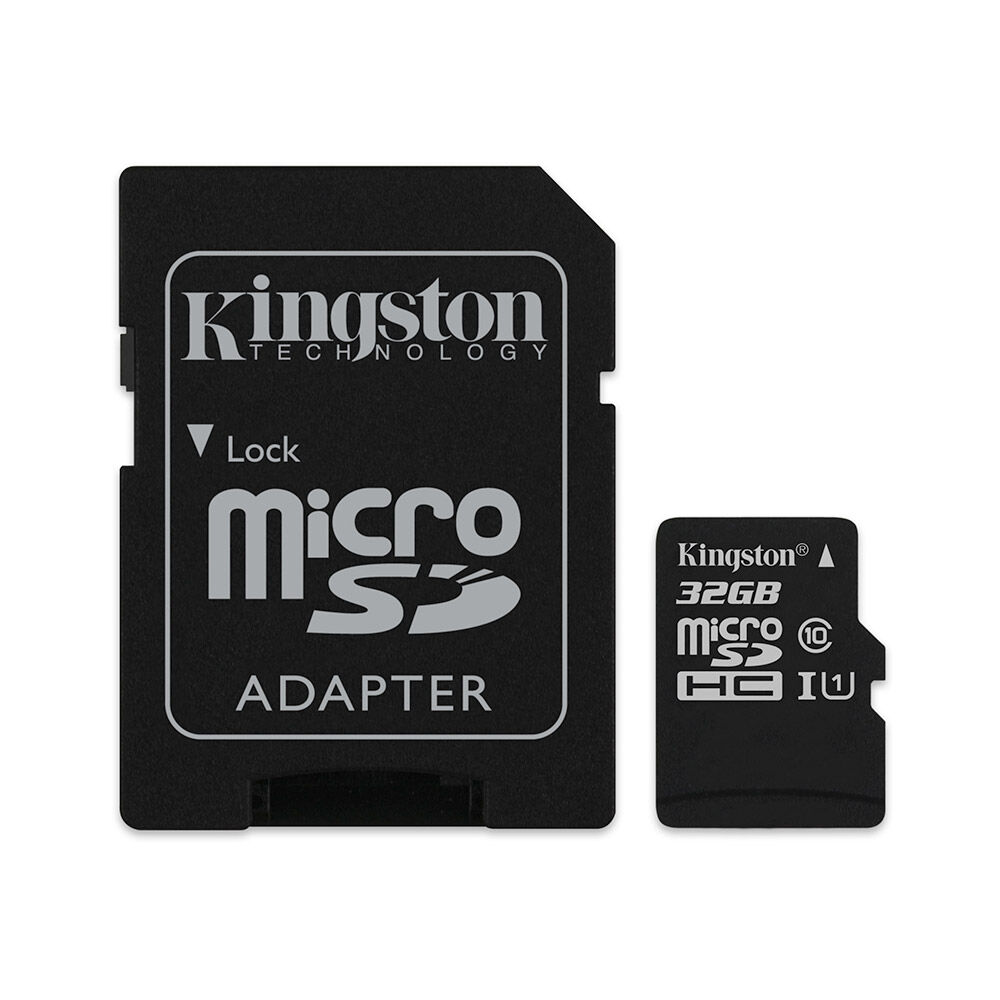 Tarjeta Kingston Micro Sd / 32 Gb / Class 10 image number 0.0