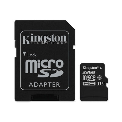 Tarjeta Kingston Micro Sd / 32 Gb / Class 10