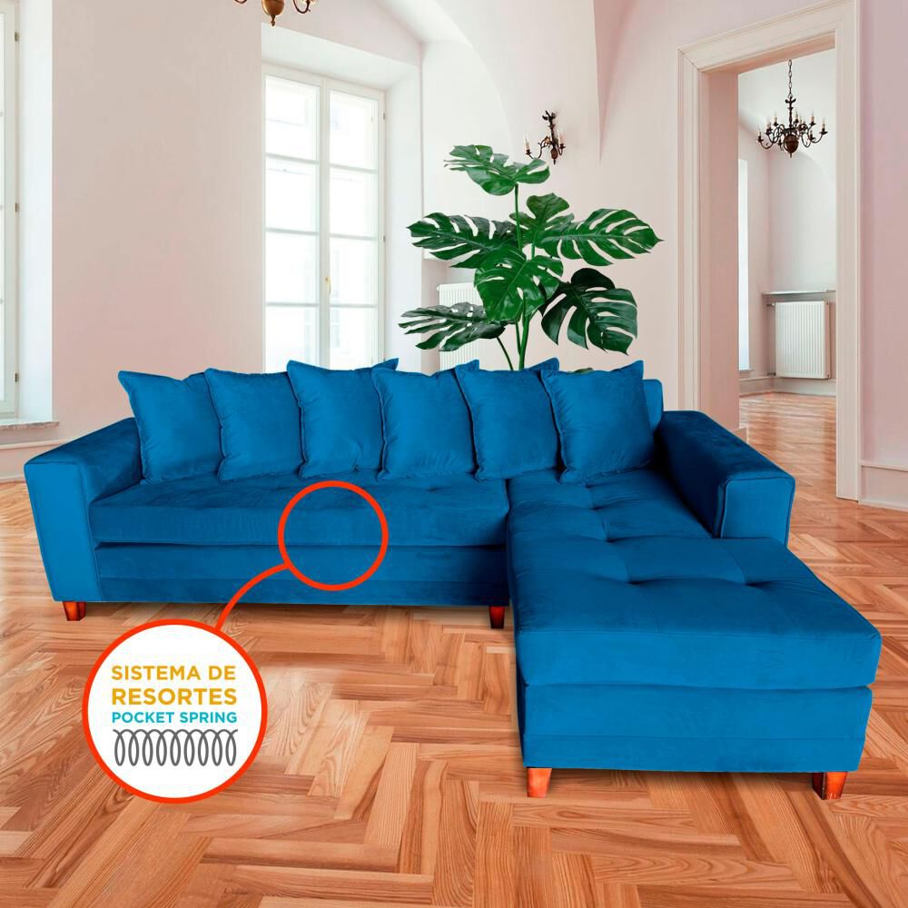 Sofá Seccional Living Factory Venecia / 5 Cuerpos image number 1.0
