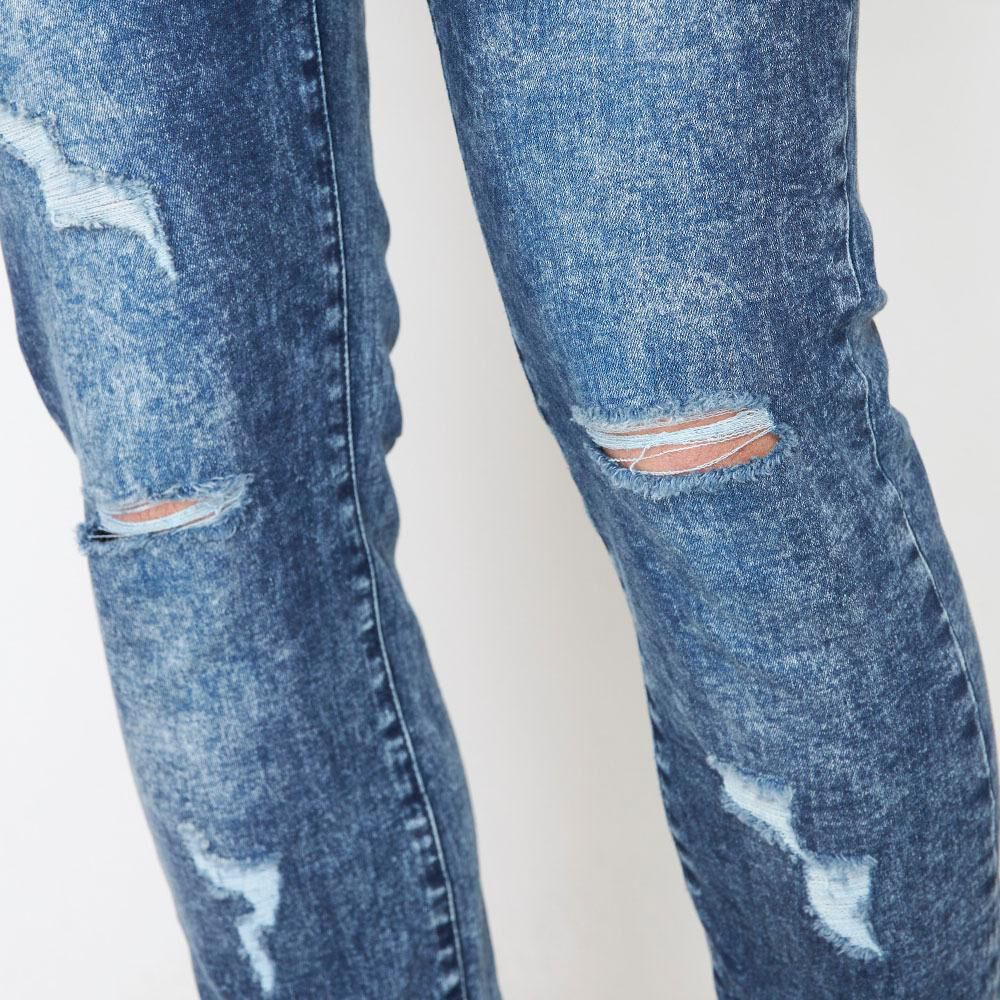 Jeans Super Skinny Hombre Rolly Go image number 4.0