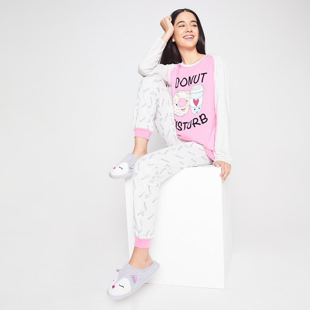 Polera De Pijama Mujer Freedom image number 1.0